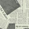 ロール包装紙 ニュースペーパー 半才2P