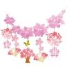 店飾用品 桜扇ネットガーランド