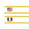 国旗入提札(糸付)