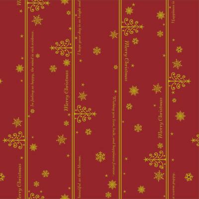 すべての講義 クリスマス ラッピング 包装紙 : 35-2178 包装紙 ネージュ赤 半才 ...