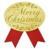 ギフトシール Merry Christmas 赤